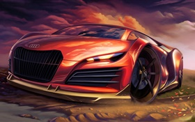 Conception de supercar Audi