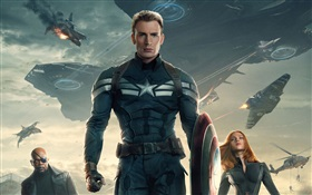 Captain America: The Winter Soldier HD Fonds d'écran