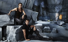 Divergent, Shailene Woodley, Theo James HD Fonds d'écran