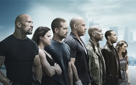 Fast and Furious 7 HD Fonds d'écran
