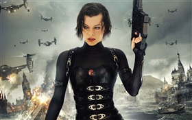 Resident Evil 5: Retribution, Milla Jovovich HD Fonds d'écran