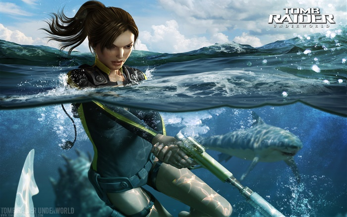 Tomb Raider: Underworld, Lara Croft Fonds d'écran, image
