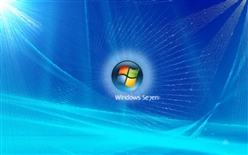 Windows 7, Sonic bleu HD Fonds d'écran