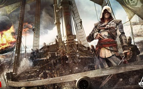 Assassins Creed 4: Black Flag, jeu PC HD Fonds d'écran