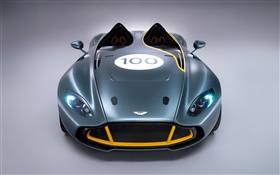 Aston Martin CC100 Speedster notion supercar vue de face HD Fonds d'écran