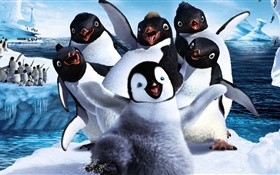 Happy Feet Deux, film d'animation HD Fonds d'écran
