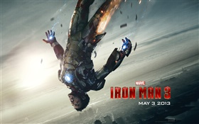 Iron Man 3, tombant HD Fonds d'écran