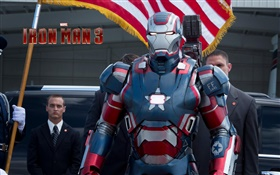 Iron Man 3, film grand écran HD Fonds d'écran