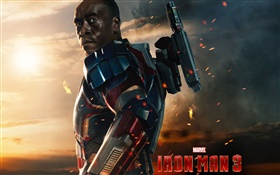 James Rhodes, Iron Man 3 HD Fonds d'écran