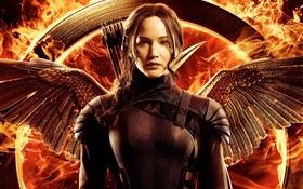 Jennifer Lawrence, The Hunger Games: Mockingjay, Partie 1 HD Fonds d'écran