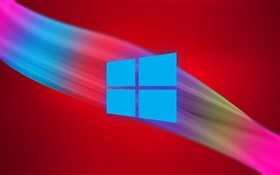 De Windows 9 logo, abstrait HD Fonds d'écran
