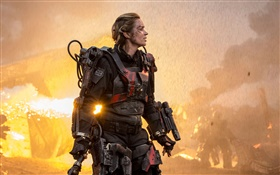 Emily Blunt dans Edge of Tomorrow HD Fonds d'écran