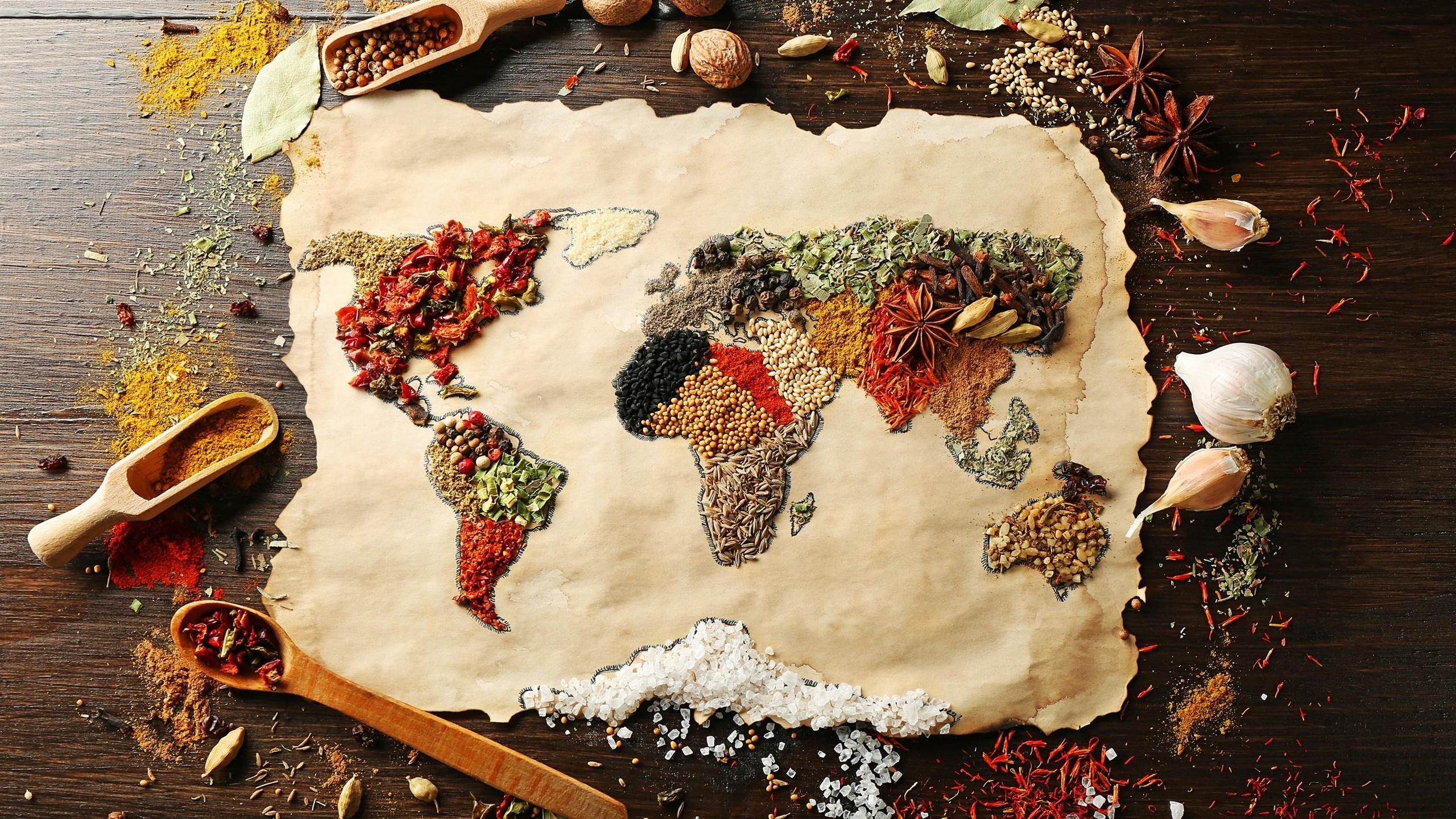 Alimentaires pices surface carte du monde images for Fond ecran monde