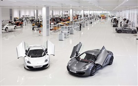 McLaren MP4-12C supercars, usine