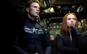 Captain America: The First Avenger, Black Widow HD Fonds d'écran