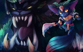 GNAR, League of Legends, des jeux PC HD Fonds d'écran