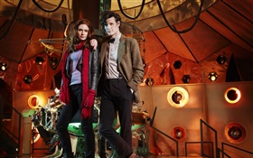 Matt Smith, Amy Pond, Doctor Who, la série TV HD Fonds d'écran