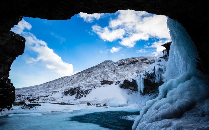 grotte de neige cuite au soleil Télécharger skype