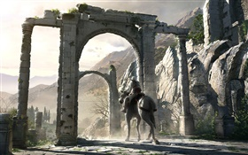 Assassin 's Creed, cheval HD Fonds d'écran
