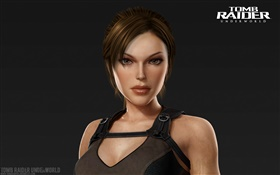 Lara Croft, portrait, Tomb Raider: Underworld HD Fonds d'écran
