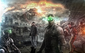 Splinter Cell: Blacklist, Xbox jeu HD Fonds d'écran