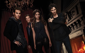 Le grand écran Vampire Diaries HD Fonds d'écran