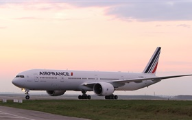 Boeing 777 passagers avion, France