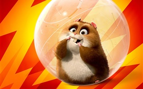 hamsters mignons, film d'animation HD Fonds d'écran