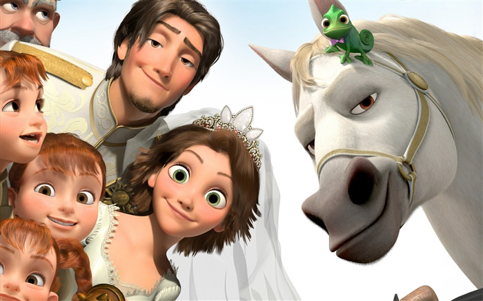 Tangled, film d'animation Disney Fonds d'écran, image