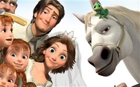 Tangled, film d'animation Disney HD Fonds d'écran
