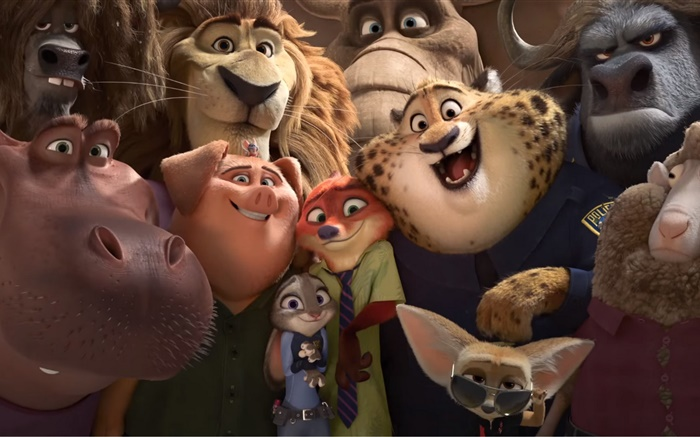 Zootopia, film d'animation Fonds d'écran, image