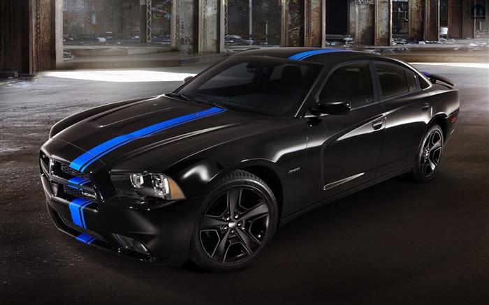 Dodge Charger Voiture Noire La Nuit Hd Fonds D 39 Cran Voitures Fond D 39 Cran Aper U Fr