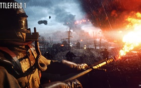 Battlefield 1, flamethrower HD Fonds d'écran