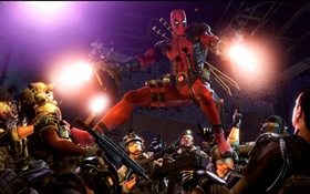 Deadpool, bandes dessinées, jeux marvel HD Fonds d'écran