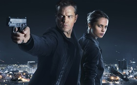 Film Jason Bourne 2016 HD Fonds d'écran