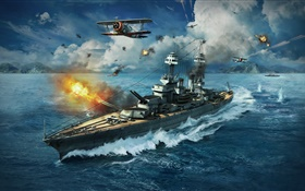 World of Warships, jeux PC HD Fonds d'écran