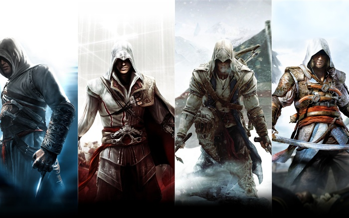 Assassin's Creed, personnages Fonds d'écran, image
