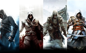 Assassin's Creed, personnages HD Fonds d'écran
